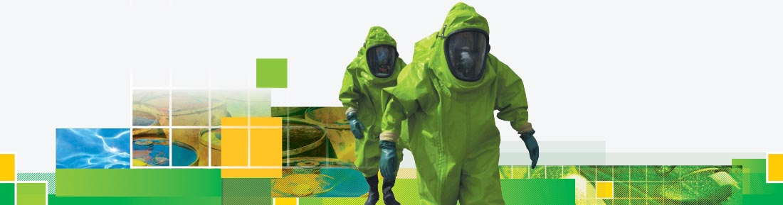 Health and Safety Sciences HazMat teams and team training.